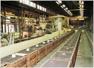 常磐製作所の鋳造部門