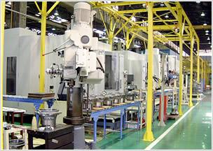 常磐製作所の機械工場